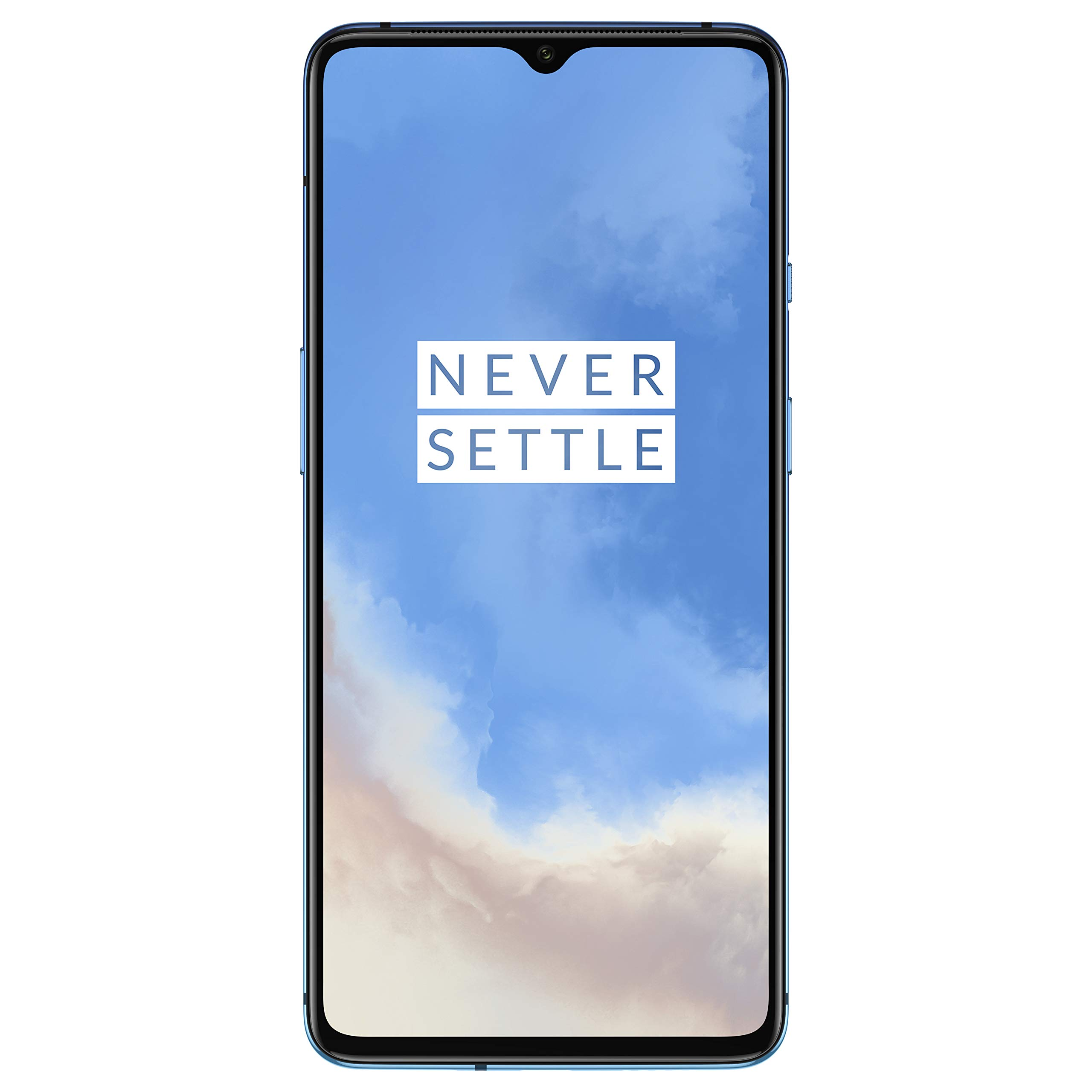 OnePlus 7T (Glacier Blue, 8GB RAM, Fluid AMOLED Display, 256GB Storage, 3800mAH Battery) product image