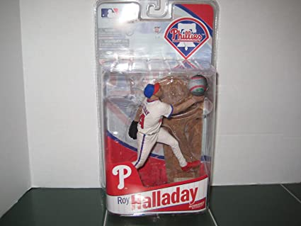 Philadelphia Phillies Grey Uniform Bronze Collector Level Chase MLB/_ROY HALLOWAY/_Bronz McFarlane Toys MLB Sports Picks Series 26 Action Figure Roy Halladay