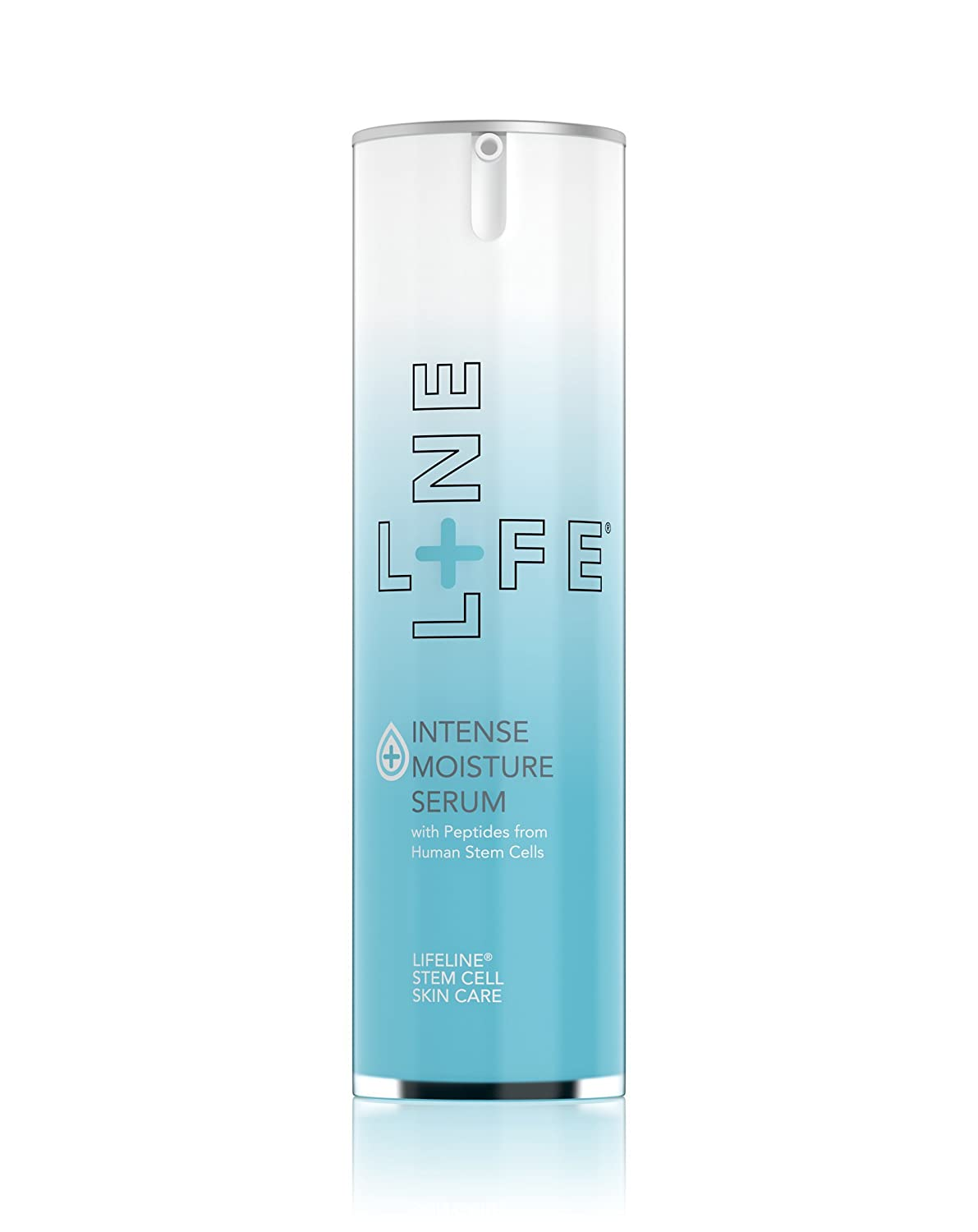 Lifeline Intense Moisture Serum Fragrance Free Intense Continuous Hydration Reverses Signs of Aging, Proteins and Peptides to Replenish Skin