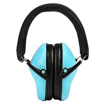 Orejeras para niños, Ballery Orejera Protección Auditiva Auriculares Defensores Cancelación de Ruido para Disparo,