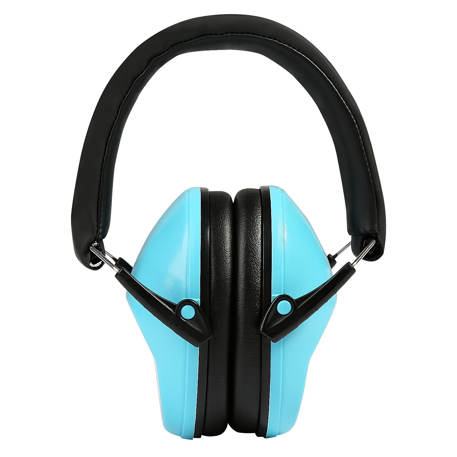 NEWSTYLE Kids Ear Protection Defenders Hearing Protectors Earmuffs Noise Protection for Shooting Studying Hunting Adjustable Headband for Children Infants Small Adults Women (Blue)
