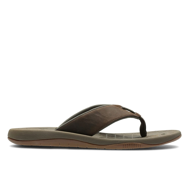 7b4c76e47cc64 Clarks Mens Toe Post Summer Sandals Bosun Coast: Amazon.co.uk: Shoes & Bags
