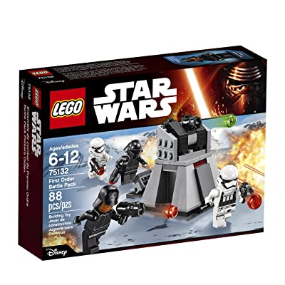 LEGO Star Wars First Order Battle Pack 75132: Toys & Games