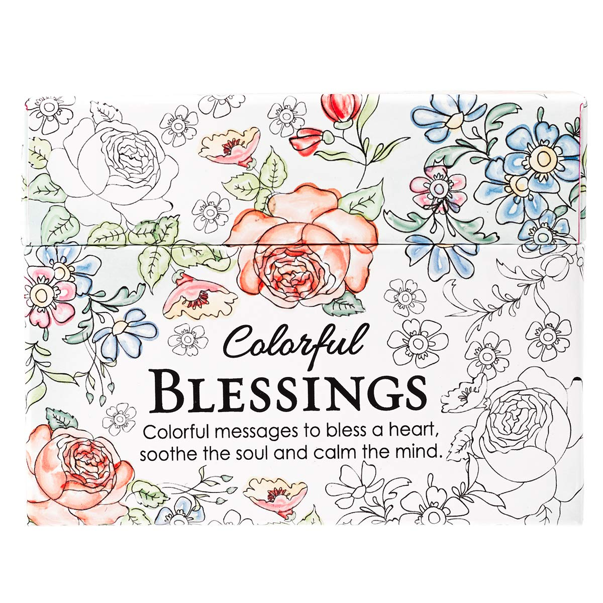 Pdf Crafts Colorful Blessings: Cards to Color and Share