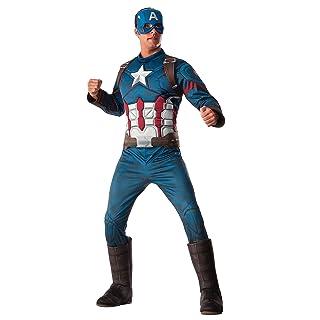 Rubie's Men's Marvel Captain America: Civil War Deluxe Costume, Standard