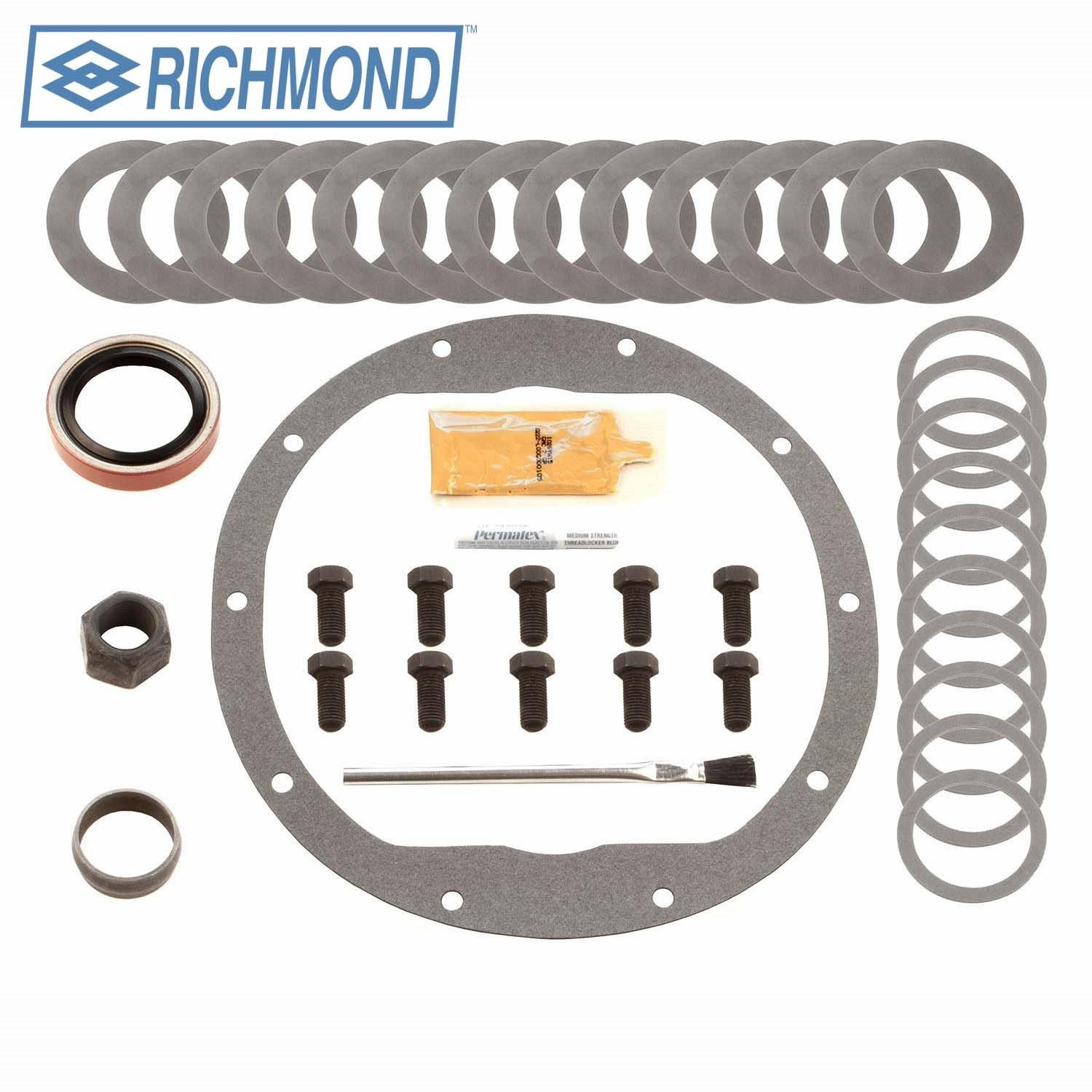 Richmond Gear 831021B Gm 1/2 Install Kit 8.5Car