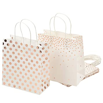 Amazon.com: Bolsas de regalo de papel - 16 unidades Bolsas ...