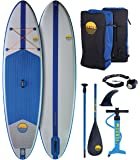 "SUNSET 10'4 x 32"" x 6"" All Around Inflatable Stand Up Paddle Board 