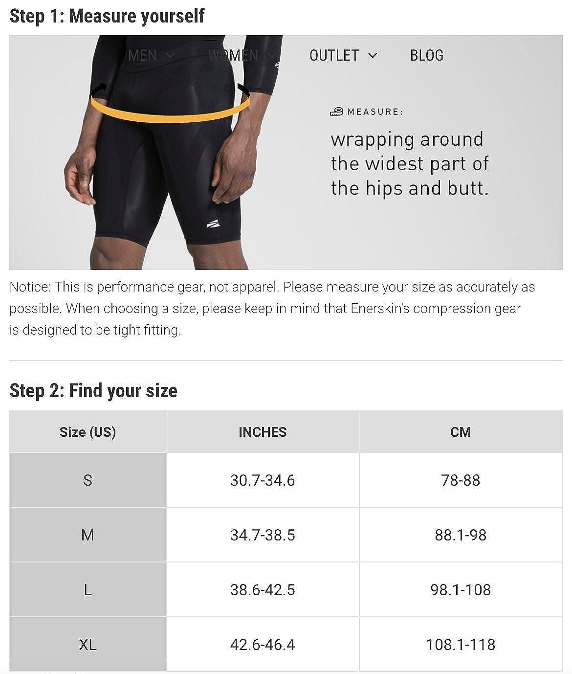 Amazon.com: enerskin E75 para hombre pantalones cortos de ...