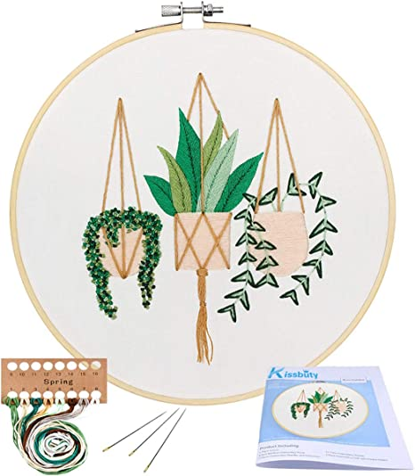 Bordado con aguja 5D HD cod.178 Adult Embroidery Starter Kit with Tapestry Embroidery Kit 50x40cm Planting Millet Cross Stitch Embroidery Set Including multilayer cotton thread
