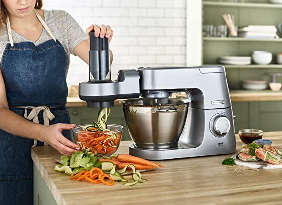 Kenwood aw20010015 Spiralizer, Silver: Amazon.es: Hogar