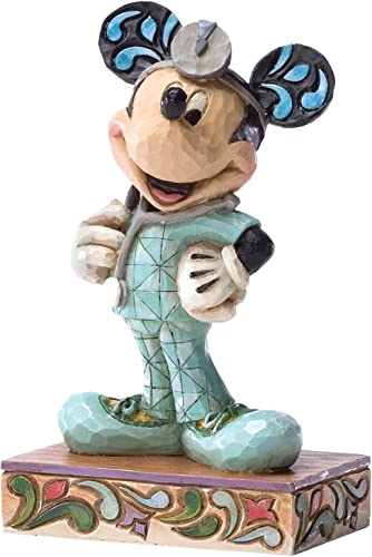 Enesco Disney Traditions by Jim Shore Doctor RN Mickey Figurine, 4.5-Inch