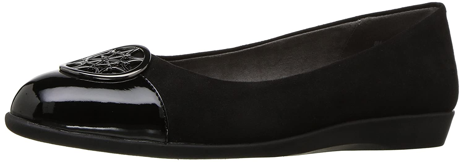 Aerosoles A2 by Women's Trend Book Ballet Flat B0722PXZR6 8.5 B(M) US|Black Combo