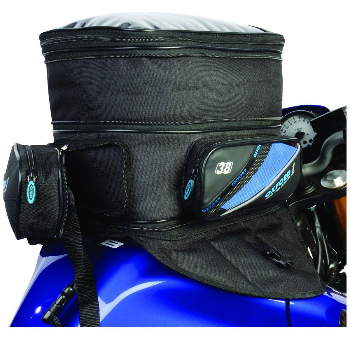 Oxford 2013 First Time Motorcycle Expander Tankbag OL432