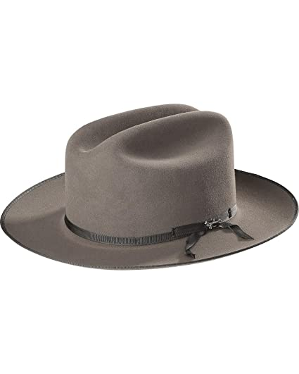 24a069a8f07 Stetson Men s Royal Deluxe Open Road Hat at Amazon Men s Clothing store