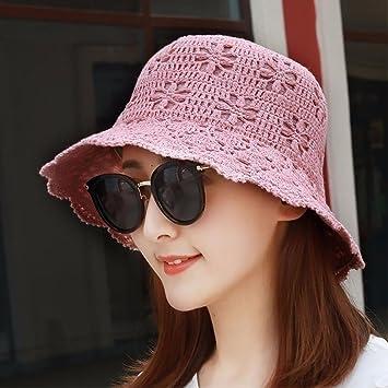 XINQING-MZ La cuenca chica cap hat ancianos visera tapa sombrero para el  sol Sombrero ec653219bb5