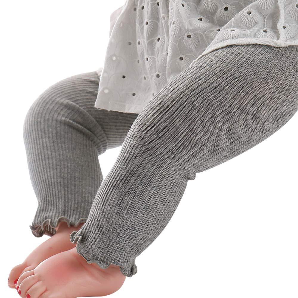 Liddon le ghette delle ragazze & dei ragazzi del bambino hanno mescolato i pantaloni del tutto-fiammifero del colore solido di riscaldamento caldo del materiale molle del cotone