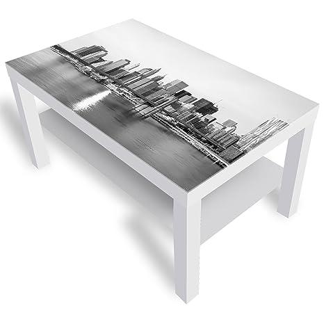 meilleure sélection ed2c6 77471 DekoGlas IKEA Brooklyn Bridge Table Basse avec Plateau en ...