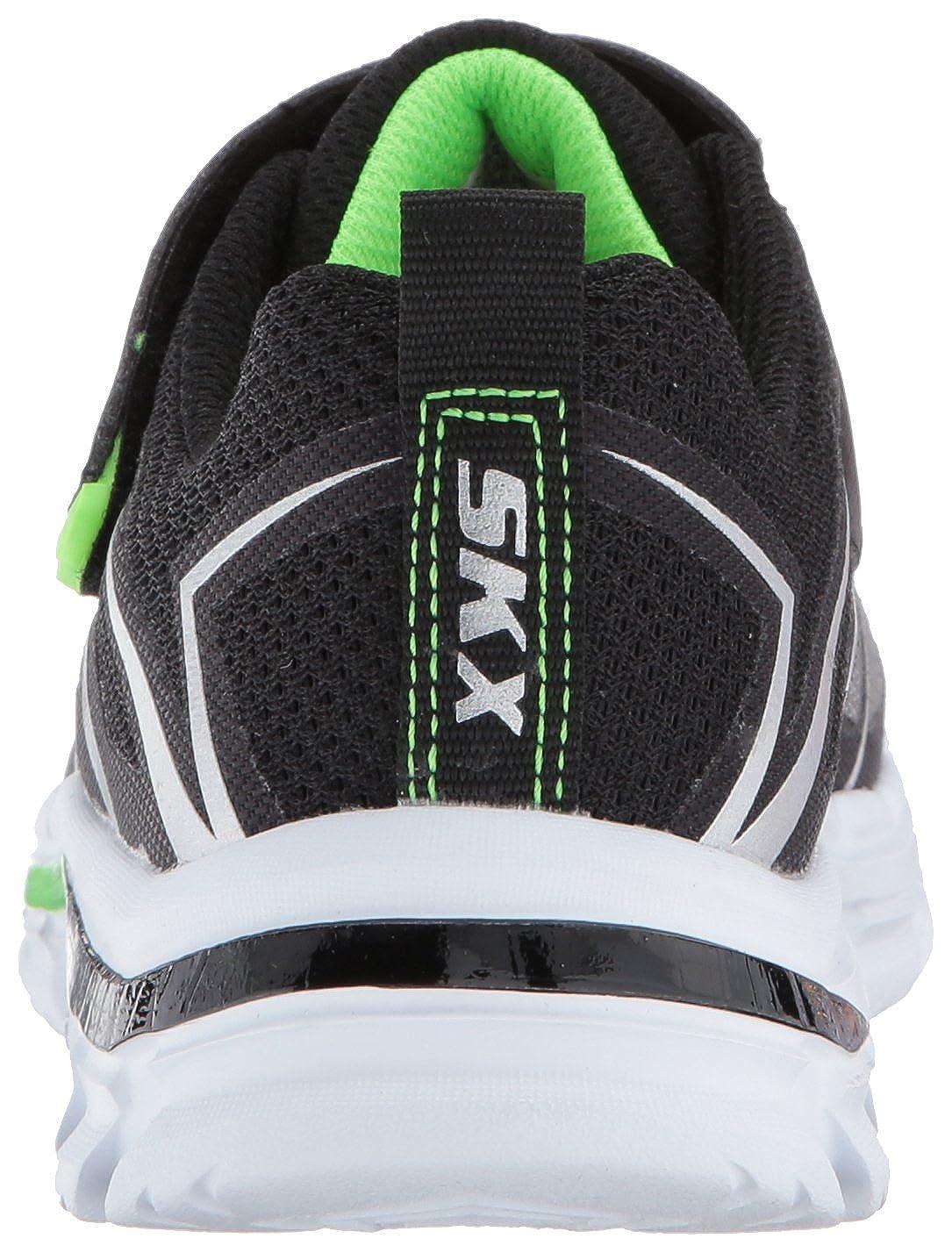 Skechers Kids Boys' Nitrate 95359L Sneaker, RoyalBlack, 11.5 M US Little Kid