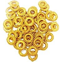 Golden Mirror Frames for Embroidery Works in CHURIDHAR,Blouses,DHUPPATTA