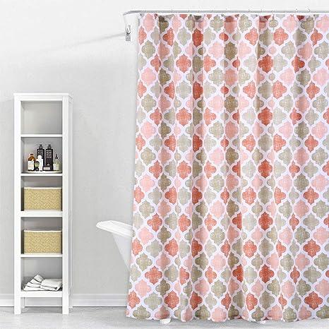 Cotton Fabric Quatrefoil  Moroccan Fabric Heavy Cotton Canvas Curtain Fabric