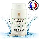 Magnésium Complexe MironLab | Magnésium marin, Bisglycinate de Magnésium et vitamine B6 | Fortement concentrée 300 mg de Magnésium élément | 90 gélules végétales| Fabriqué en France