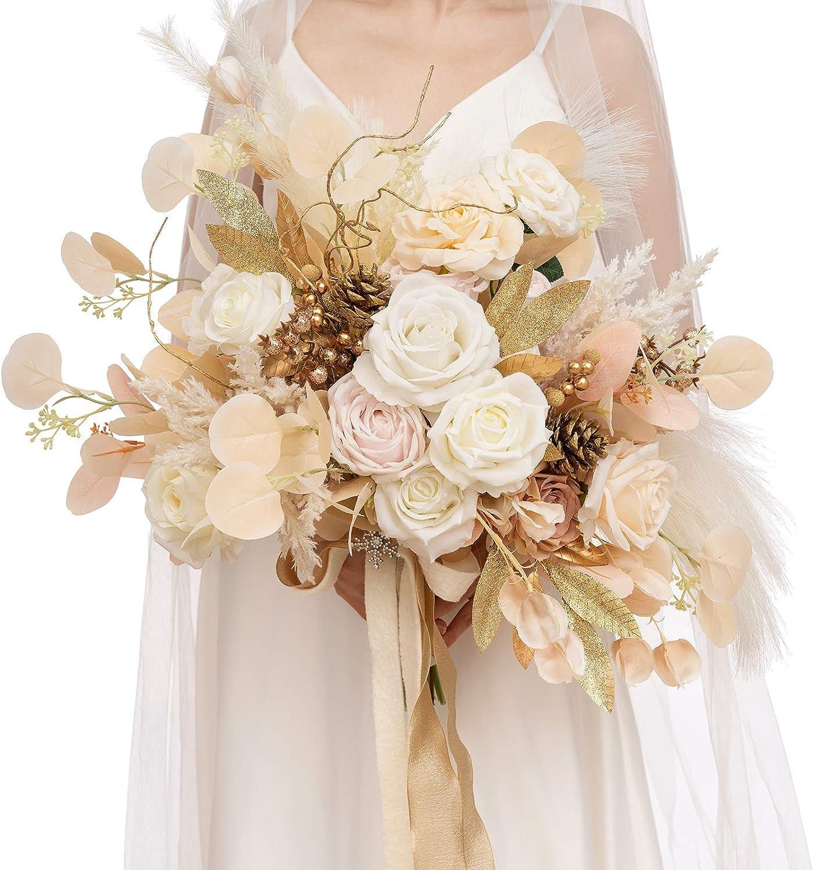 Golden wedding Anniversary Gold Poinsettia Corsage Prom Wedding Anniversary