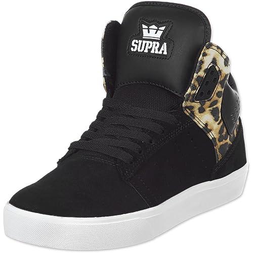 Supra Atom - Zapatillas unisex, color Negro, talla 41: Amazon.es: Zapatos y complementos