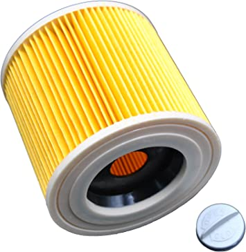 LeaBen® Cartuchos Filtro Adecuado para aspiradora en húmedo/seco húmedo aspirador/aspiradora multiusos/Lavado Aspiradora Kärcher A 2204 2254 2101 2201 wd2 WD3 MV2 MV3 wd2.200 wd3.500 P WD 3.200, como 6.414 – 552.0: Amazon.es: Bricolaje y herramientas