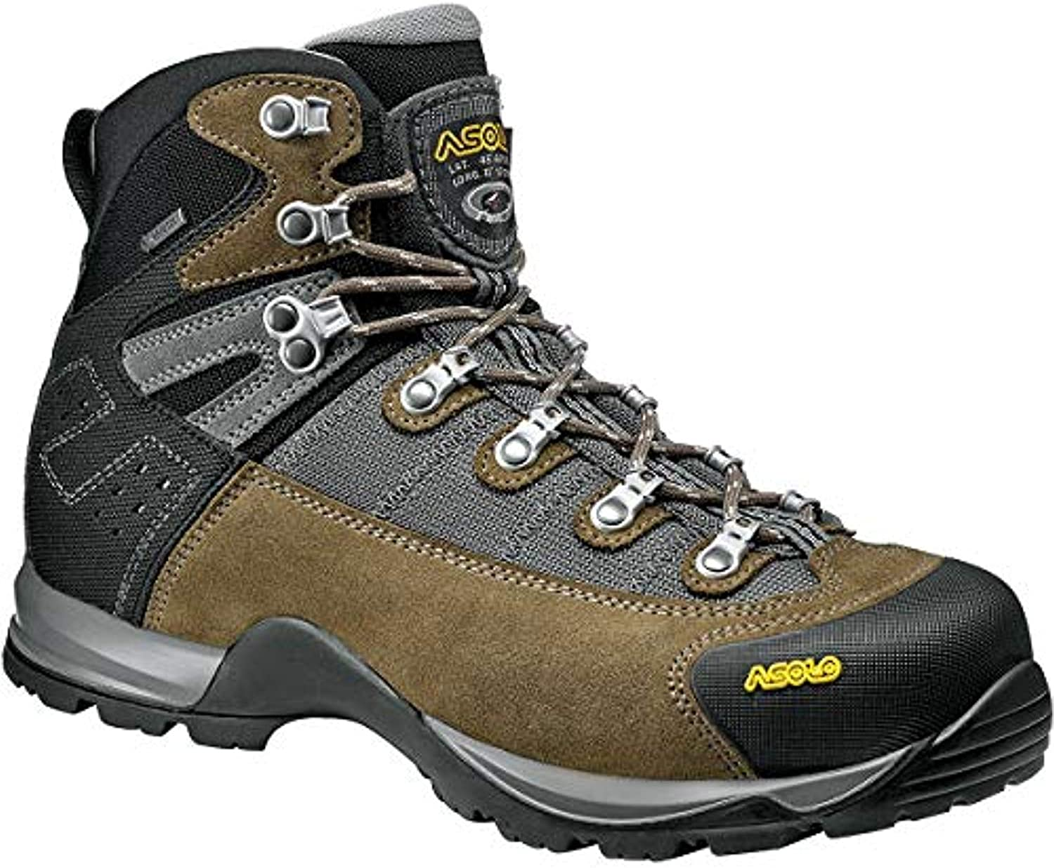 Asolo Men s Fugitive GTX Hiking Boot Knit Cap Bundle