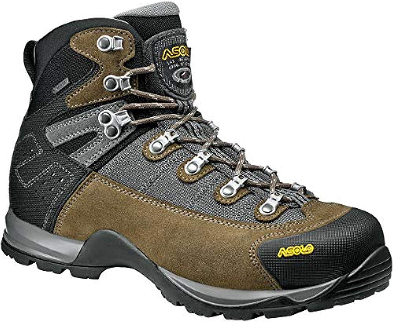 Asolo Men's Fugitive GTX Hiking Boot Knit Cap Bundle