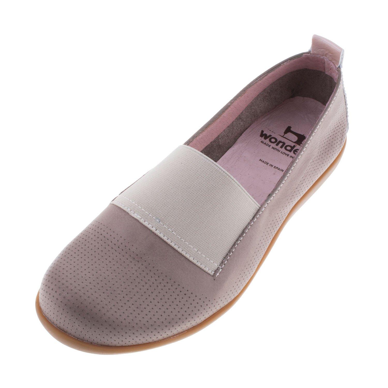 Amazon | WONDERS Women's Leather Slip On Shoe A6961 | Loafers &  SlipOns
