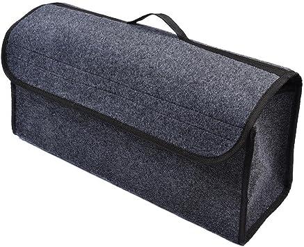 Caja de almacenamiento plegable para el compartimento del coche, bolsa de almacenamiento para maletero, organizador para viajes en coche: Amazon.es: Bricolaje y herramientas