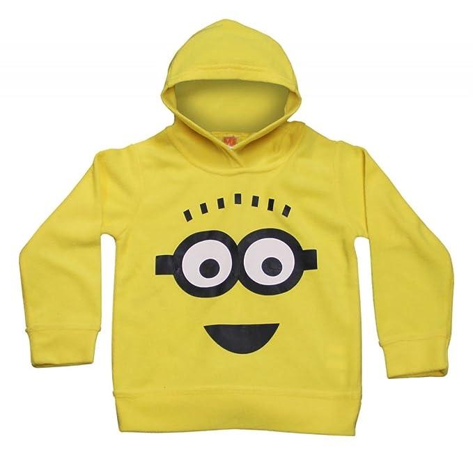 Sudadera con capucha oficial para niños, diseño de Minions amarillos, diseño de Gru, mi villano favorito Amarillo amarillo: Amazon.es: Ropa y accesorios
