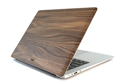buy online fd896 28fba TOAST Real Wood Walnut Cover for 13-Inch MacBook Air (MBAR-13-PLA-01-COM)