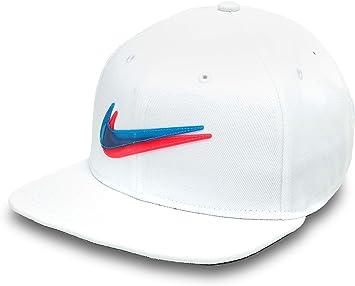 Nike Y Nk Dry Pro Cap Ssnl 3D Gorra, Unisex niños, White/Blue Hero ...