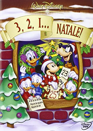 Immagini Natalizie Walt Disney.3 2 1 E Natale Amazon It Walt Disney Dvd 3 2 1 E Natale