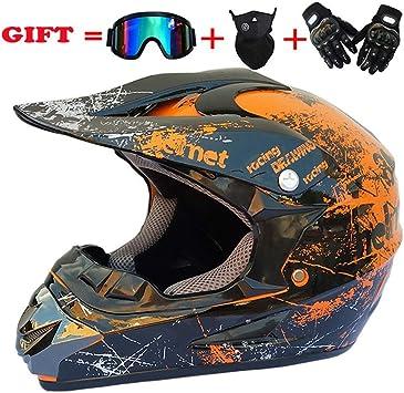 Helmet Caschi Moto Casco Moto Casco Integrale Adulto Visiera off Road Racing Motocross ATV Dirt Bike Motocross
