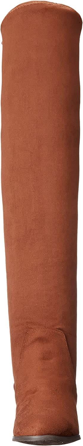 Chinese Laundry Women's Rainey Winter Boot Brownstone Suedette