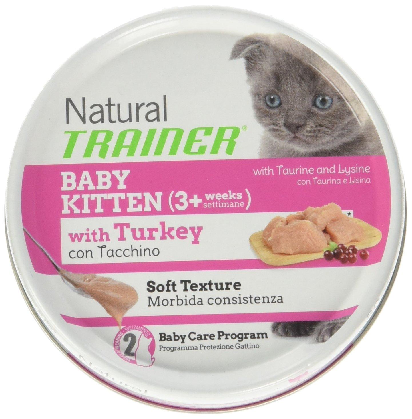Trainer TR. Natural Gato Baby Kitten Pavo GR 80: Amazon.es ...