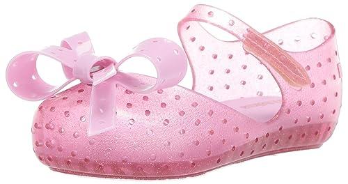 Mini Melissa Baby Girls Toddlers Furadinha X Mary Jane Bow Flats