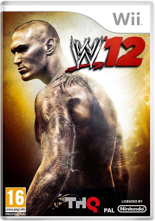 THQ WWE 12 - Juego (Nintendo Wii, Lucha, Yukes, T (Teen), DEU): Amazon.es: Videojuegos