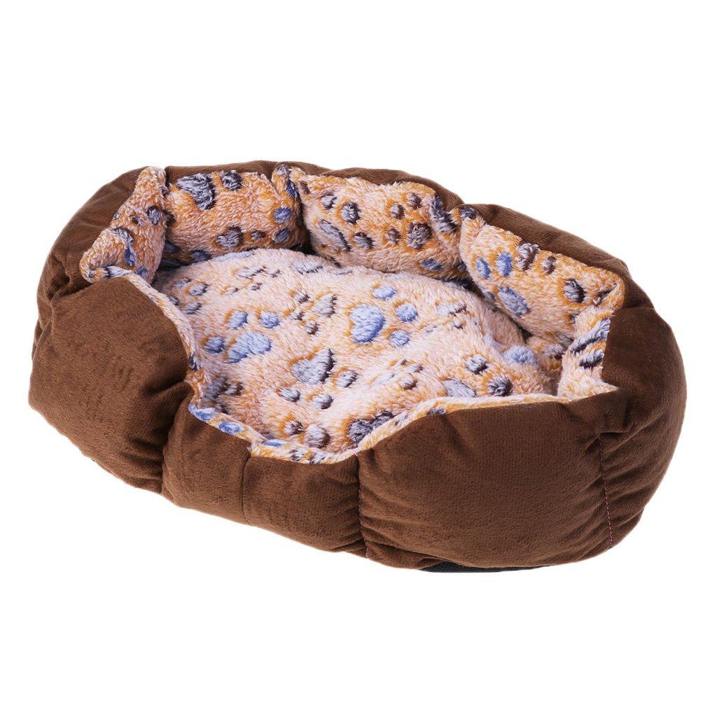 Xuniu Pet cómoda Cama Caliente, Perro Cachorro Gato Suave Cama Mat Pet Interior colchón Cama sueño 35x27cm: Amazon.es: Hogar