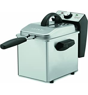 Fryers Kitchen & Dining Renewed Brushed Stainless Waring Pro DF280 ...