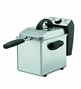 Waring WDF75RC 8.5 lb. Commercial Countertop Deep Fryer 120V