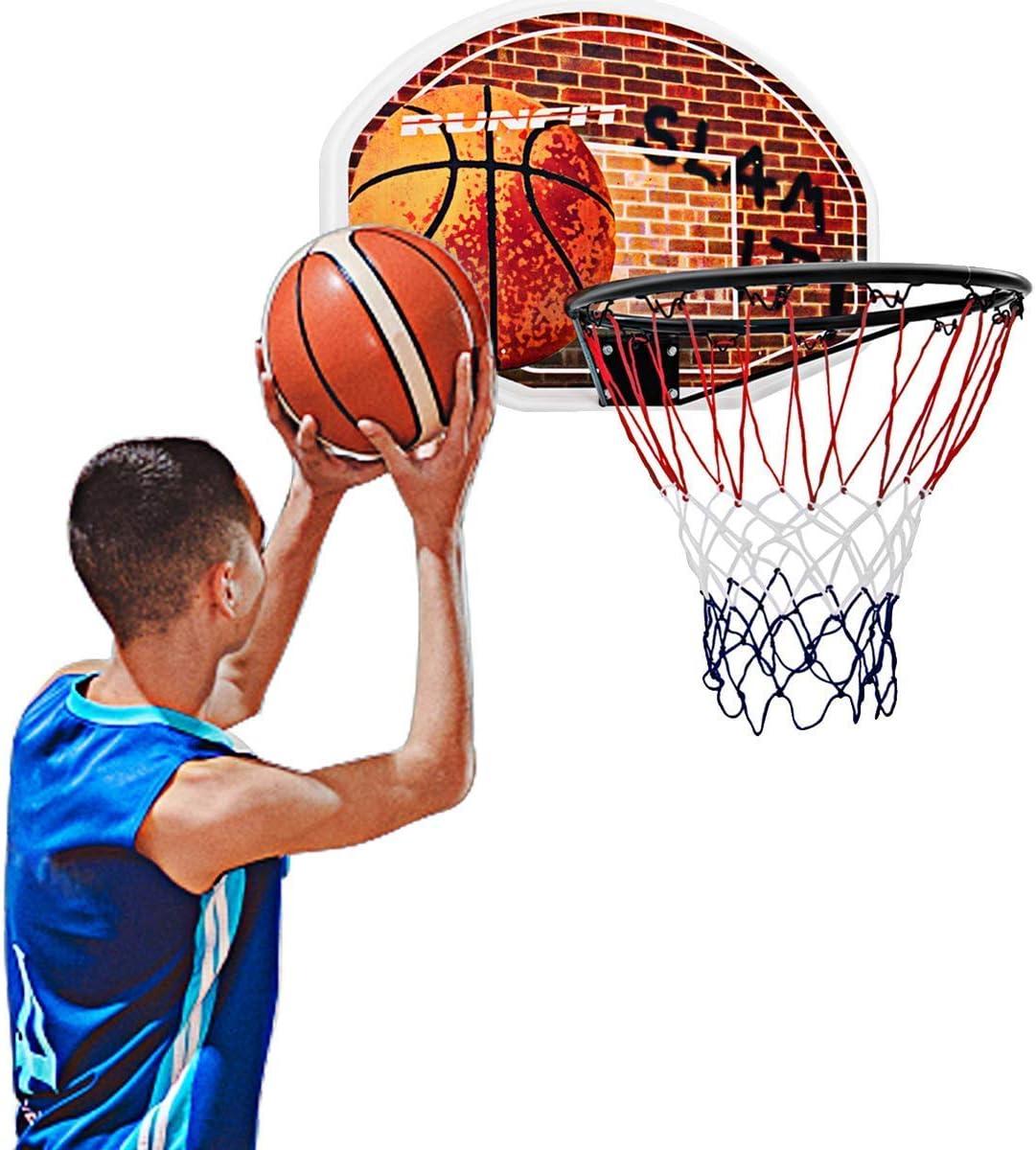 Wall Mounted Basketball Hoop Basketball Set With Backboard Basktball For Kids Chalkalon Mini Basketball Hoop Set Green Kids Indoor Basketball Hoop Play Set