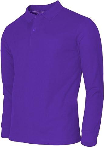 BCPOLO camisa de Polo para hombre Polo de algodón piqué para ...