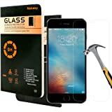 iPhone 7 Pellicola Protettiva,Pellicola Protettiva Nakeey [Ultra-Clear] Protezione Vetro Temperato, Compatibile HD Film Tempered Glass Screen Protector per iPhone 7 4.7""