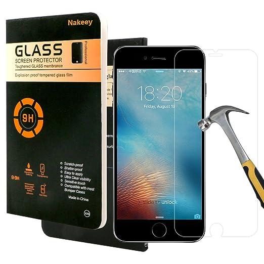 83 opinioni per iPhone 7 Pellicola Protettiva,Pellicola Protettiva Nakeey [Ultra-Clear]
