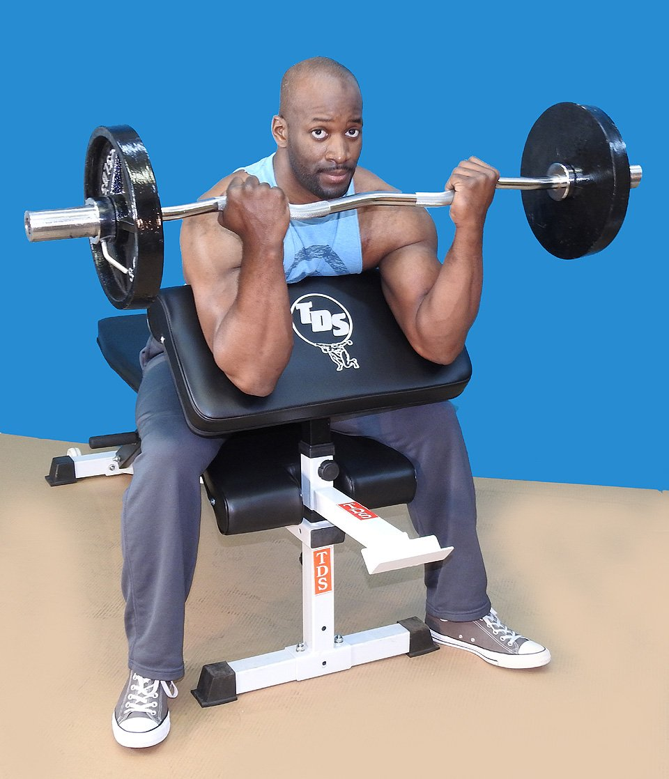 Arm Curl Attachment by TDS